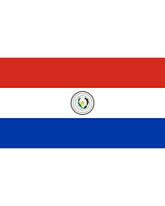 Fahne: Flagge: Paraguay