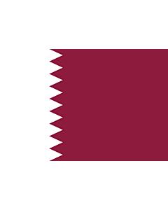Fahne: Flagge: Katar
