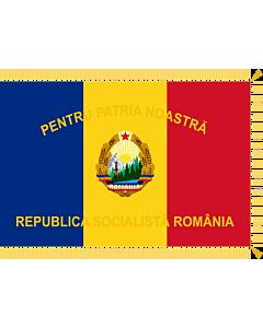 Fahne: Flagge: Patriotic Guards of Romania  1977-1989, obverse