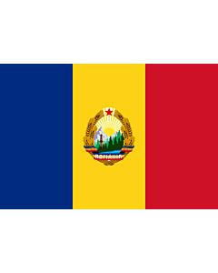Fahne: Flagge: Romania  1965-1989 | Romania