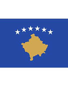 Fahne: Flagge: Kosovo