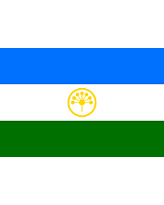 Fahne: Flagge: Baschkortostan
