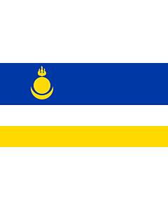 Fahne: Flagge: Buryatia