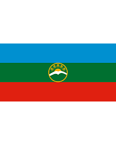 Fahne: Flagge: Karatschai-Tscherkessien