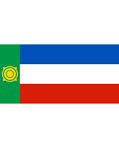Fahne: Flagge: Chakassien