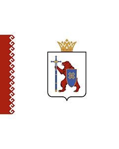 Fahne: Flagge: Republik Mari El