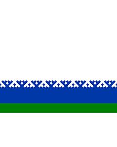 Fahne: Flagge: Autonome Kreis der Jamal-Nenzen