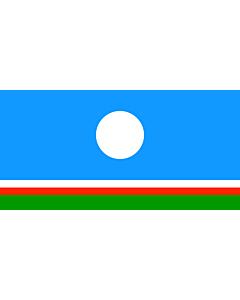 Fahne: Flagge: Sakha (Yakutia)