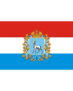Fahne: Flagge: OblastSamara