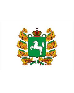 Fahne: Flagge: OblastTomsk