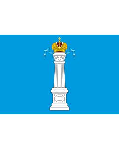 Fahne: Flagge: OblastUljanowsk