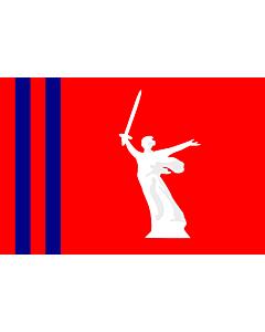 Fahne: Flagge: OblastWolgograd