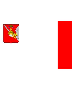 Fahne: Flagge: OblastWologda