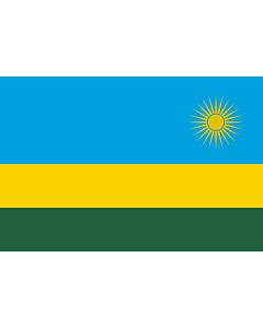 Fahne: Flagge: Ruanda