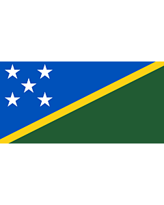 Fahne: Flagge: Salomonen