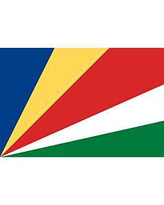Fahne: Flagge: Seychellen