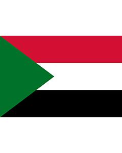 Fahne: Flagge: Sudan