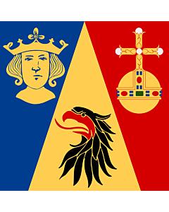 Fahne: Flagge: Stockholm