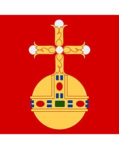 Fahne: Flagge: Uppsala
