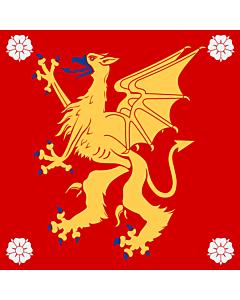 Fahne: Flagge: Östergötland