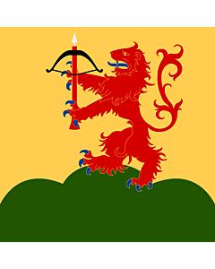 Fahne: Flagge: Kronoberg