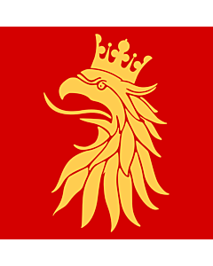 Fahne: Flagge: Schonen