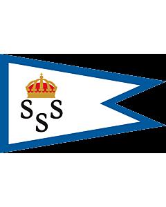 Fahne: Flagge: Burgee of KSSS members
