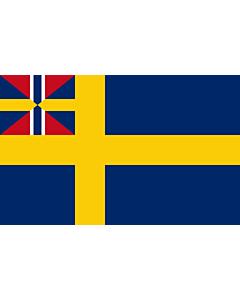 Fahne: Flagge: Swedish norwegian union