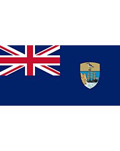 Fahne: Flagge: St. Helena