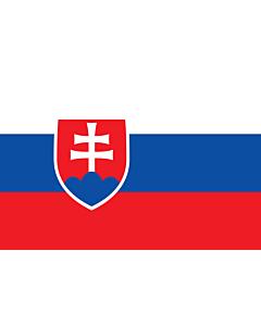 Fahne: Flagge: Slowakei