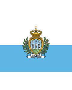 Fahne: Flagge: San Marino