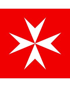 Fahne: Flagge: Souveräner Malteserorden