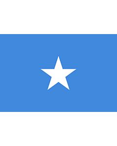 Fahne: Flagge: Somalia