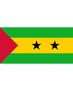 Fahne: Flagge: São Tomé und Príncipe