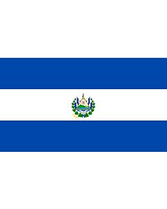 Fahne: Flagge: El Salvador