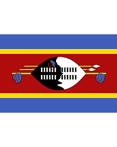 Fahne: Flagge: Swasiland