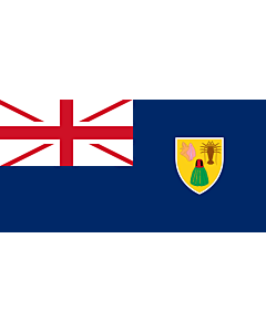 Fahne: Flagge: Turks- und Caicosinseln