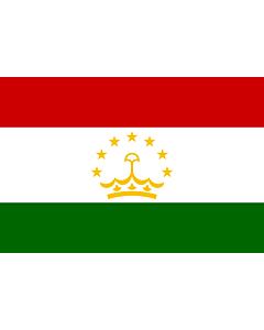 Fahne: Flagge: Tadschikistan