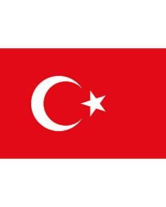 Fahne: Flagge: Türkei
