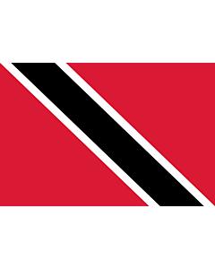 Fahne: Flagge: Trinidad und Tobago