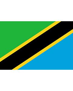 Fahne: Flagge: Tansania, Vereinigte Republik