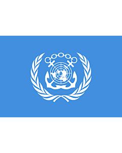 Fahne: Flagge: International Maritime Organization