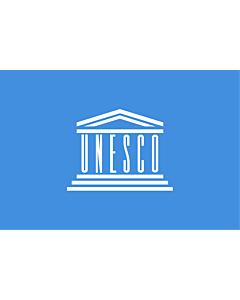 Fahne: Flagge: Organisation der Vereinten Nationen für Bildung