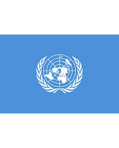 Fahne: Flagge: Vereinten Nationen, UN, UNO