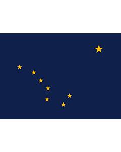 Fahne: Flagge: Alaska