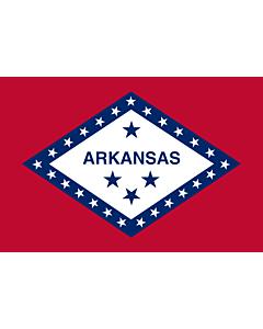 Fahne: Flagge: Arkansas