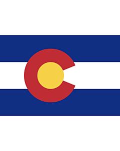 Fahne: Flagge: Colorado