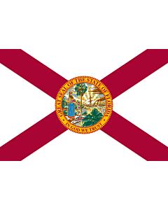 Fahne: Flagge: Florida