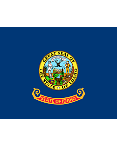 Fahne: Flagge: Idaho