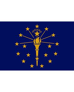 Fahne: Flagge: Indiana
